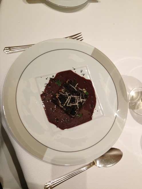 Côtes de Cardons épineux argentés de Crissier aux truffes noires