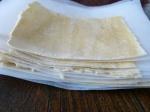 Lasagneblätter gefroren