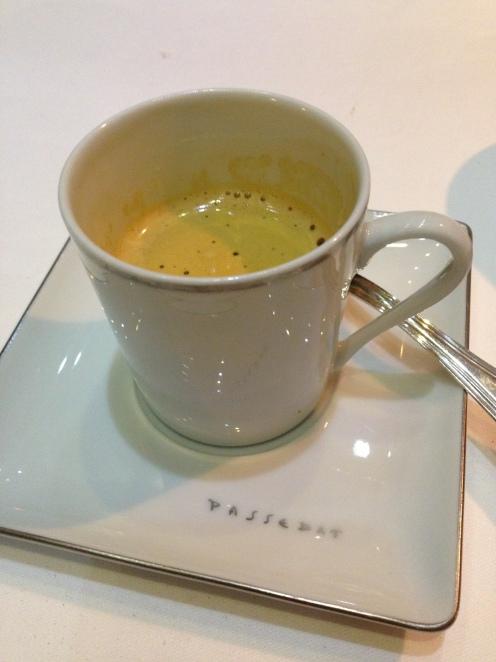 Uff - geschafft, der Espresso zum Abschluss