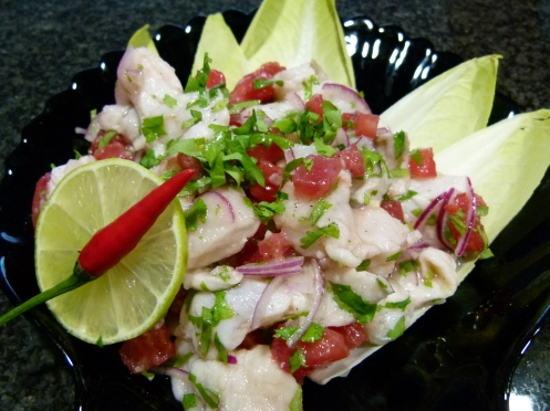Ceviche vom Red Snapper