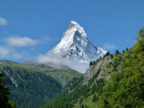 majestätischer Berg