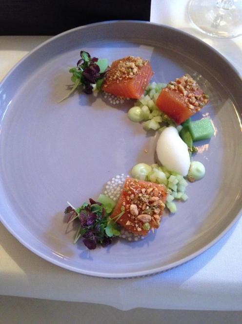 Schottischer Lachs & Wasabi