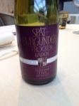unser erster deutscher Rotwein