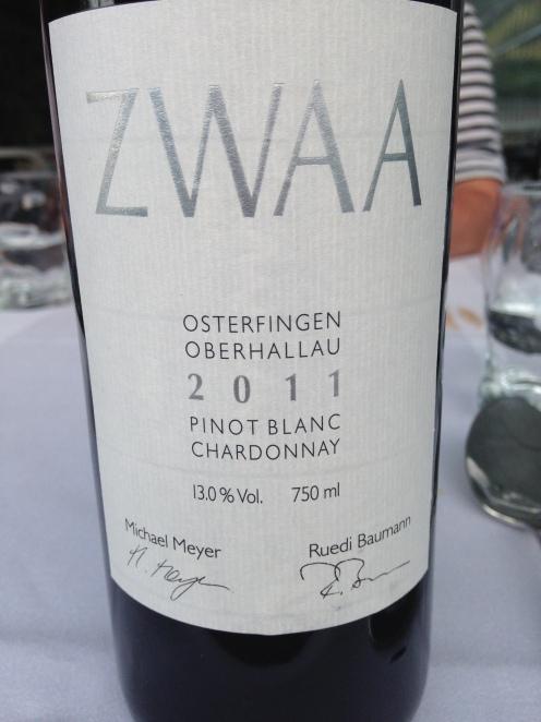 ein feiner Schweizer Wein
