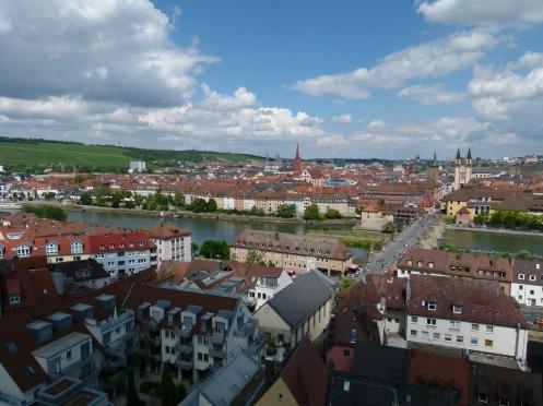 Licht und Schatten in Würzburg