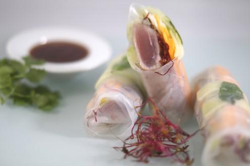 Tuna Summer Rolls