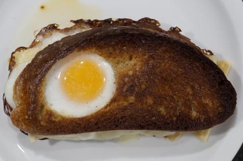 Ham n'Cheese Sandwich with a Twist
