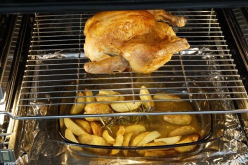 Huhn im Ofen