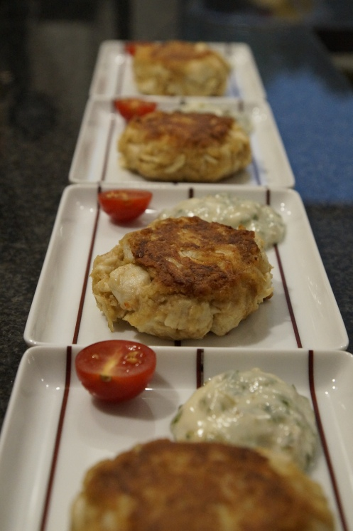 Crab Cakes mit Sauce Remoulade