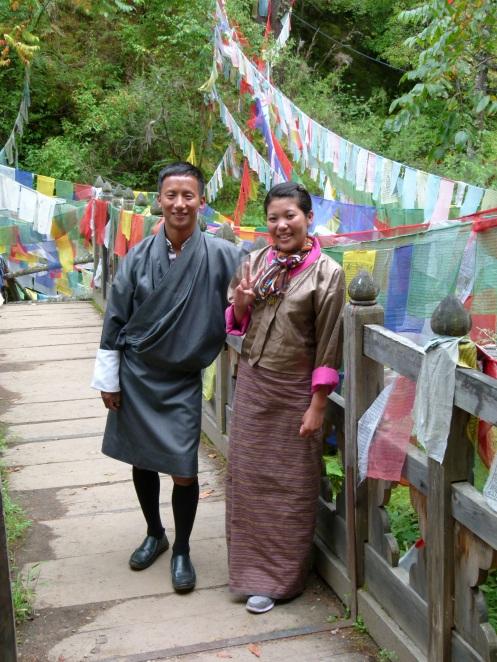 Dorji (Driver) und Sonam (Guide)