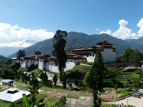 Der schöne Dzong von Trongsa