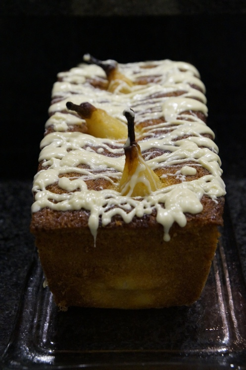 Kardamom Birnen Kuchen