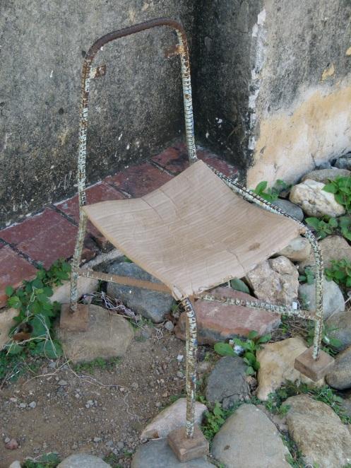 ein kubanischer Stuhl
