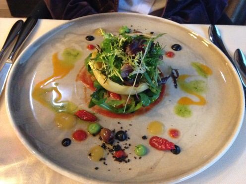 Artischocke Vegi Mediterranes Gemüse, Kräutersalat
