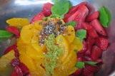 Modernist Fruchtsalat