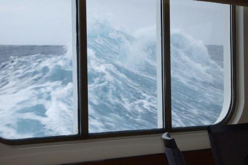 stürmische Drake Passage