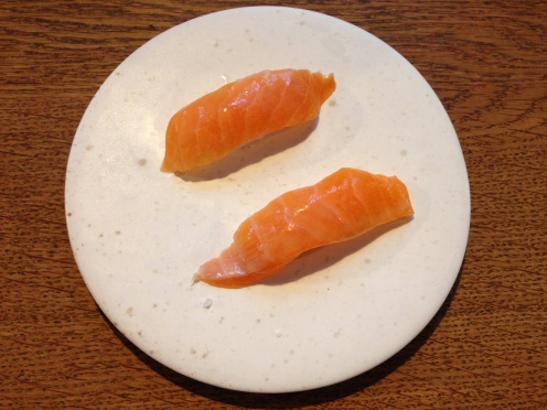 3b/9 Forelle als Sushi