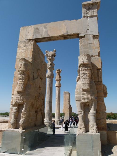"""das """"Tor aller Länder"""" in Persepolis"""