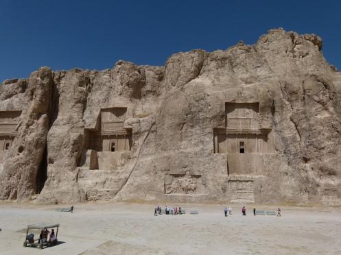 Naqsch-e Rostam, Grabstätte der Könige von Persepolis