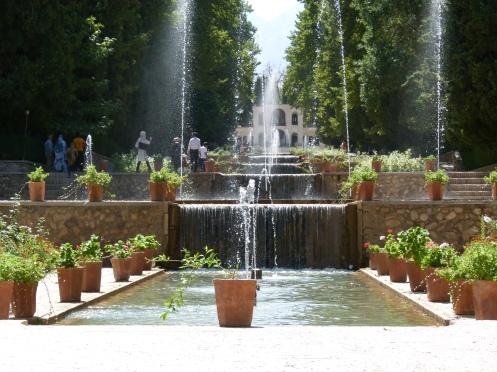 wasserreiche Gärten
