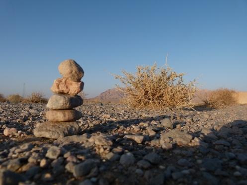 Spielerei in der Wüste
