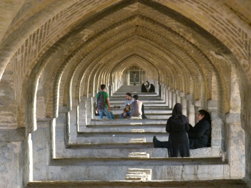 Si-o-se Pol - die 33 Bogen Brücke