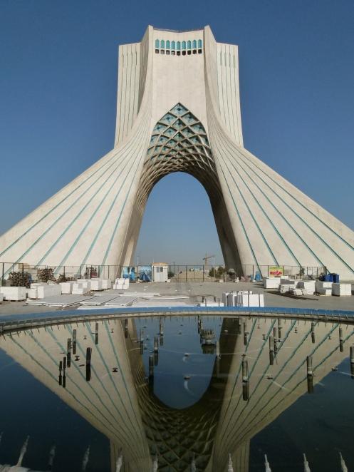 Azadi Monument in Teheran