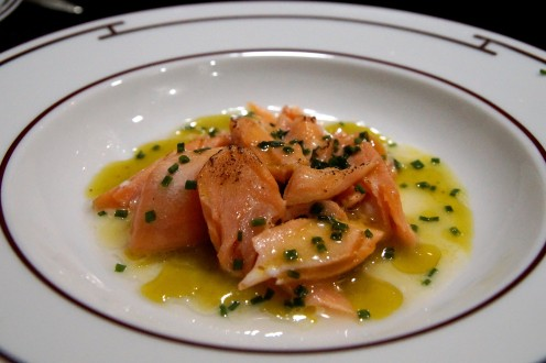 lachs sous vide mit yuzu schnittlauch vinaigrette lieberlecker. Black Bedroom Furniture Sets. Home Design Ideas
