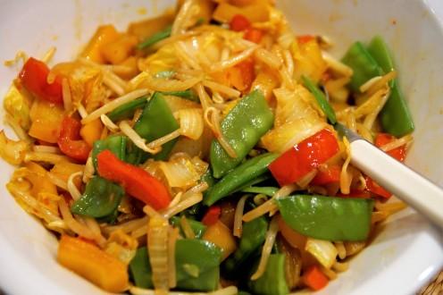 asiatische Gemüsemischung