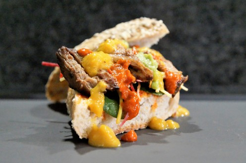Fire and Fury Sandwich